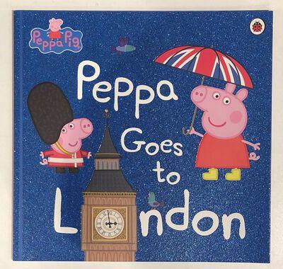 Peppa Goes to London Book