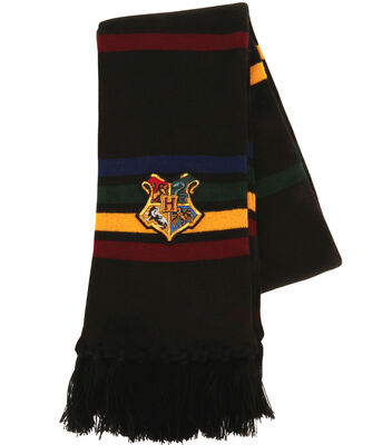 Hogwarts School Crest Knitted Scarf
