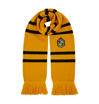 Hufflepuff Knitted Crest Scarf, , hi-res