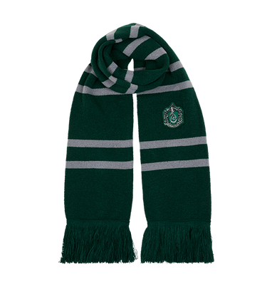 Slytherin Knitted Crest Scarf, , hi-res