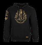 Hogwarts Gold Crest Hooded Jumper - Extra Large, , hi-res