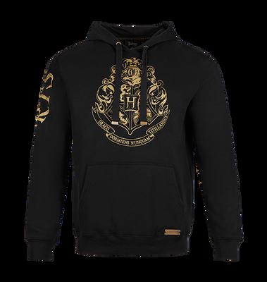 Hogwarts Gold Crest Hooded Jumper - Double Extra Large
