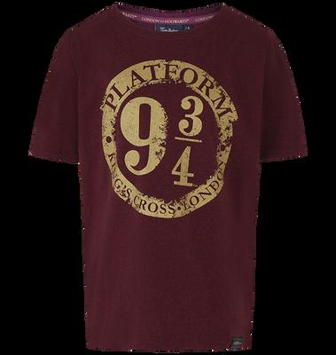 Platform 9 3/4 Marl T-Shirt - Burgundy - Medium