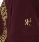 Platform 9 3/4 Marl T-Shirt - Burgundy - Extra Large, , hi-res